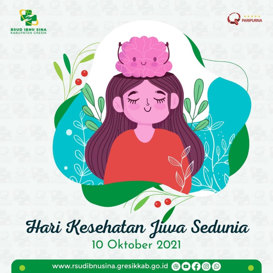 Hari Kesehatan Jiwa Sedunia, 10 Oktober 2021
